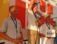 OK Dinghy Europeans Prize Giving